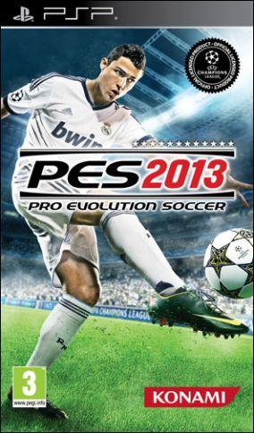 Immagine della copertina del gioco Pro Evolution Soccer 2013 per Playstation PSP