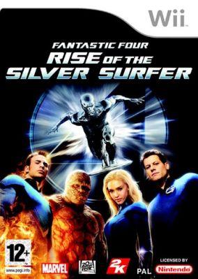 Copertina del gioco I Fantastici 4 The Rise of Silver Surfer per Nintendo Wii