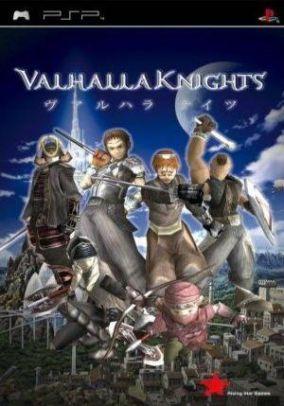Copertina del gioco Valhalla Knights per Playstation PSP