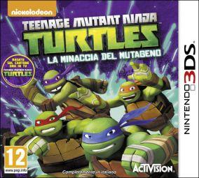 Copertina del gioco Teenage Mutant Ninja Turtles: La Minaccia del Mutageno per Nintendo 3DS