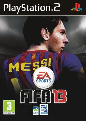 Immagine della copertina del gioco FIFA 13 per Playstation 2