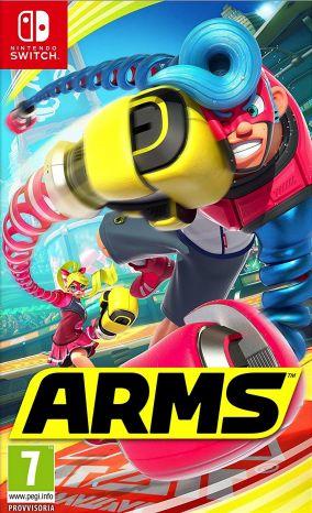 Copertina del gioco ARMS per Nintendo Switch