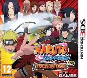 Copertina del gioco Naruto Shippuden 3DS per Nintendo 3DS