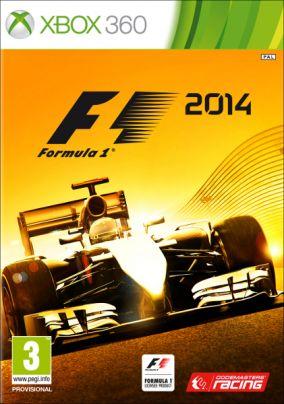 Copertina del gioco F1 2014 per Xbox 360