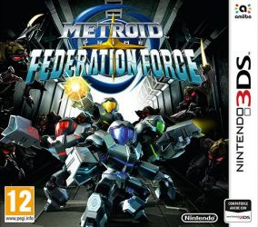 Copertina del gioco Metroid Prime: Federation Force per Nintendo 3DS