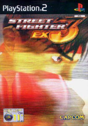 Immagine della copertina del gioco Street Fighter Ex3 per Playstation 2