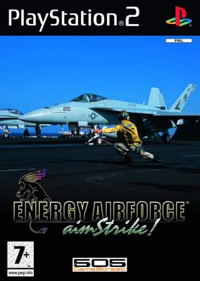 Copertina del gioco Energy Airforce: Aim Strike! per Playstation 2