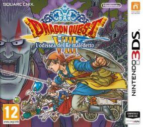 Copertina del gioco Dragon Quest VIII: L'Odissea del Re maledetto per Nintendo 3DS