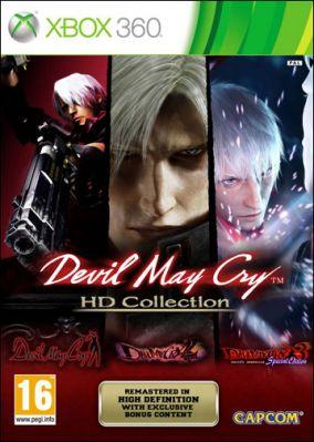 Immagine della copertina del gioco Devil May Cry HD Collection per Xbox 360