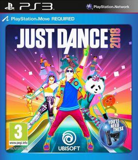 Immagine della copertina del gioco Just Dance 2018 per Playstation 3