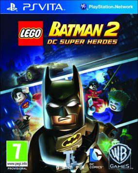 Copertina del gioco LEGO Batman 2: DC Super Heroes per PSVITA