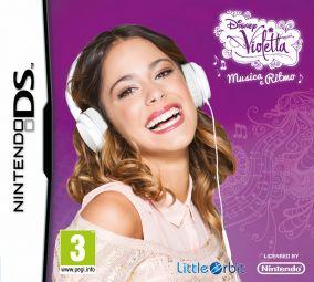 Immagine della copertina del gioco Violetta: Musica e Ritmo per Nintendo DS