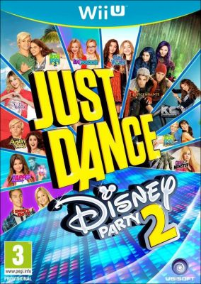 Copertina del gioco Just Dance: Disney Party 2 per Nintendo Wii U