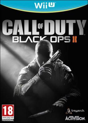 Immagine della copertina del gioco Call of Duty Black Ops II per Nintendo Wii U
