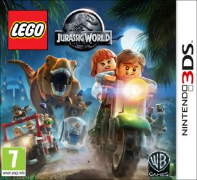 Copertina del gioco LEGO Jurassic World per Nintendo 3DS