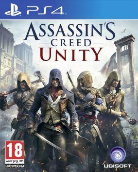 Immagine della copertina del gioco Assassin's Creed Unity per Playstation 4
