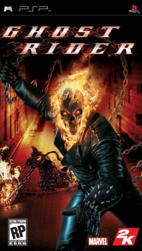 Immagine della copertina del gioco Ghost Rider per Playstation PSP