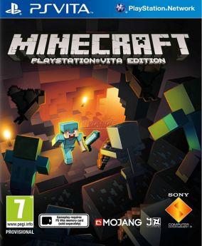 Immagine della copertina del gioco Minecraft per PSVITA