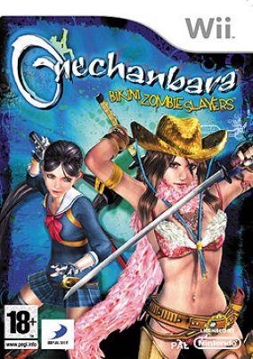Copertina del gioco Onechanbara: Bikini Zombie Slayers per Nintendo Wii