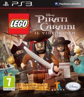Immagine della copertina del gioco LEGO Pirati dei Caraibi per Playstation 3
