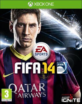 Immagine della copertina del gioco FIFA 14 per Xbox One