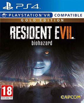 Immagine della copertina del gioco Resident Evil VII: Biohazard - Gold Edition per Playstation 4