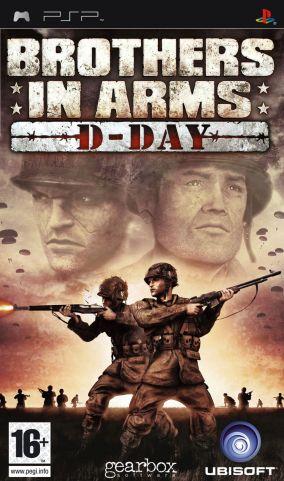 Immagine della copertina del gioco Brothers in Arms: D-Day per Playstation PSP