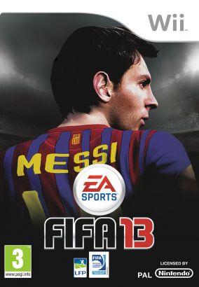 Immagine della copertina del gioco FIFA 13 per Nintendo Wii