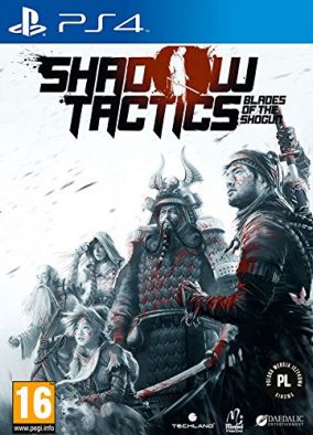 Copertina del gioco Shadow Tactics: Blades of the Shogun per Playstation 4