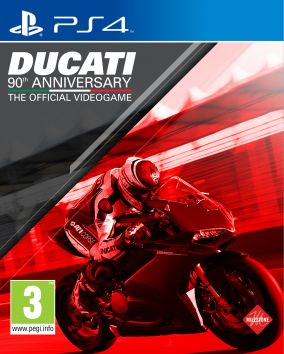 Copertina del gioco Ducati - 90th Anniversary The Official Videogame per Playstation 4