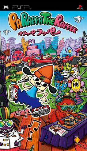 Copertina del gioco Parappa the rapper per Playstation PSP