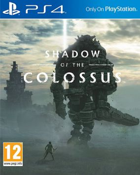 Copertina del gioco Shadow Of The Colossus per Playstation 4