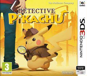 Copertina del gioco Detective Pikachu per Nintendo 3DS