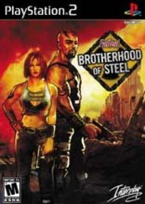 Copertina del gioco Fallout Tactics: Brotherhood of Steel per Playstation 2