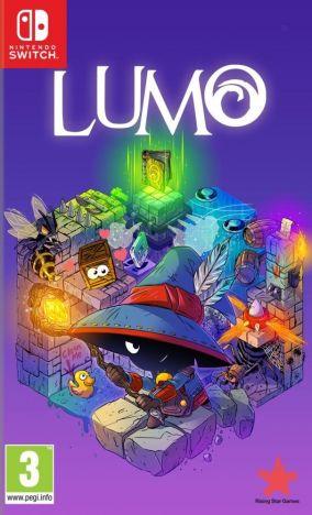 Copertina del gioco LUMO per Nintendo Switch