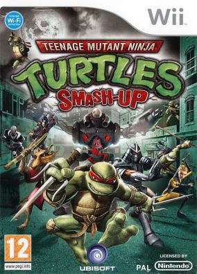 Copertina del gioco Teenage Mutant Ninja Turtles: Smash-Up per Nintendo Wii