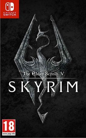 Copertina del gioco The Elder Scrolls V: Skyrim per Nintendo Switch