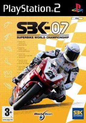 Copertina del gioco SBK 07 - Superbike World Championship per Playstation 2