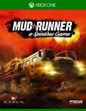 Copertina del gioco Spintires: MudRunner per Xbox One