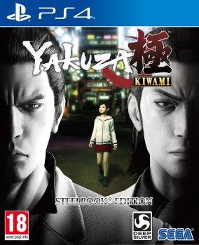 Copertina del gioco Yakuza Kiwami per Playstation 4