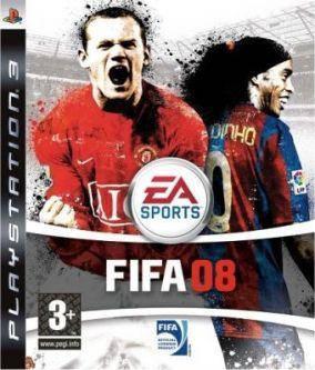 Immagine della copertina del gioco FIFA 08 per Playstation 3