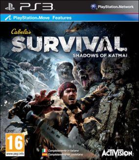 Copertina del gioco Cabela's Survival: Shadows of Katmai per Playstation 3