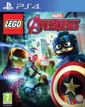 Immagine della copertina del gioco LEGO Marvel's Avengers per Playstation 4
