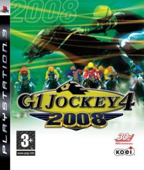 Copertina del gioco G1 Jockey 4 2008 per Playstation 3