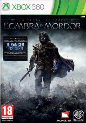 Copertina del gioco La Terra di Mezzo: L'Ombra di Mordor per Xbox 360