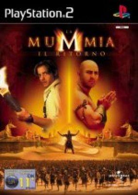 Copertina del gioco La Mummia: Il ritorno per Playstation 2