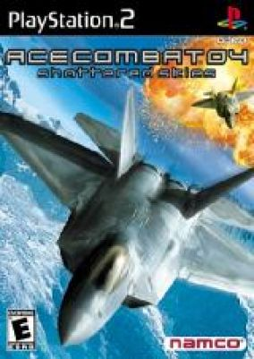 Copertina del gioco Ace Combat 4:shattered skies per Playstation 2