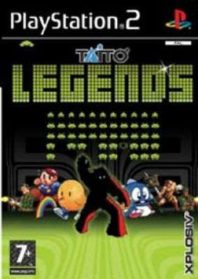 Copertina del gioco Taito Legends per Playstation 2
