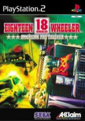 Copertina del gioco 18 Wheeler american pro trucker per Playstation 2