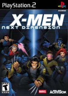 Copertina del gioco X-Men Next Dimension per Playstation 2